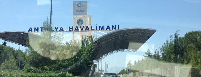 Antalya Havalimanı (AYT) is one of Gizem.