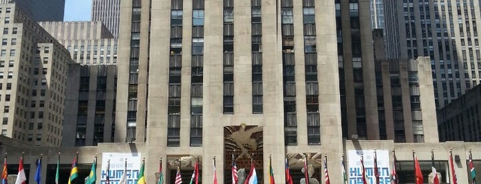 Rockefeller Center is one of NYU Graduate Bucket List.