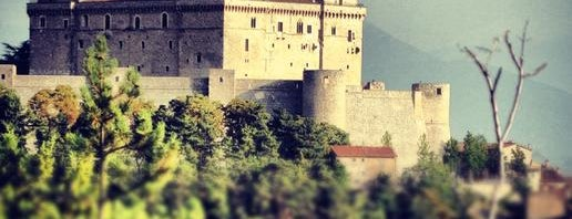Castello di Celano is one of Charming Castles and Fortresses.