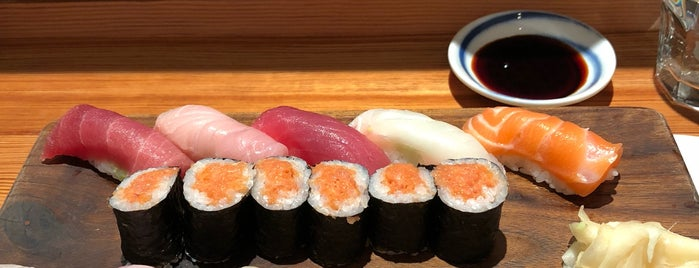 Blue Ribbon Sushi Bar is one of The Black Notebook.