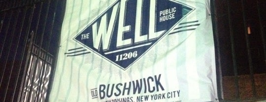 The Well is one of The 15 Best Places for a Craft Beer in Brooklyn.