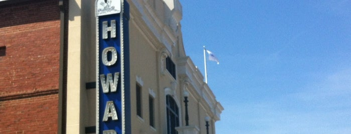 The Howard Theatre is one of places to dine.