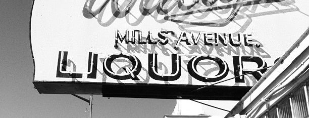 Wally's Mills Avenue Liquors is one of Favorites.