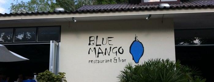 Blue Mango Restaurant and Bar (Krabi) is one of Mon Carnet de bord.