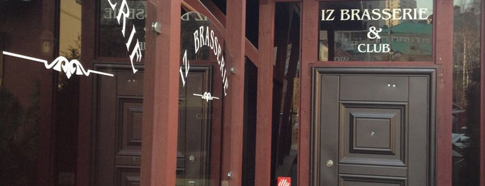 Iz Brasserie is one of Wi-Fi.