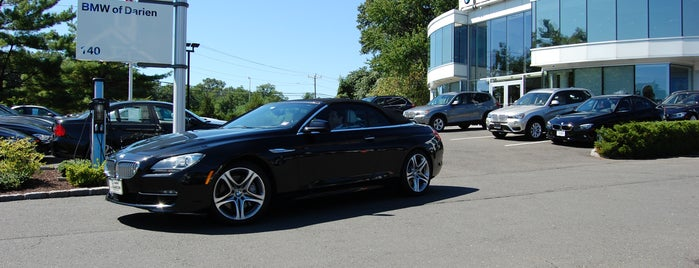 BMW of Darien is one of Guide to Darien's best spots.