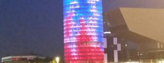 Agbar Tower is one of Barcelona.