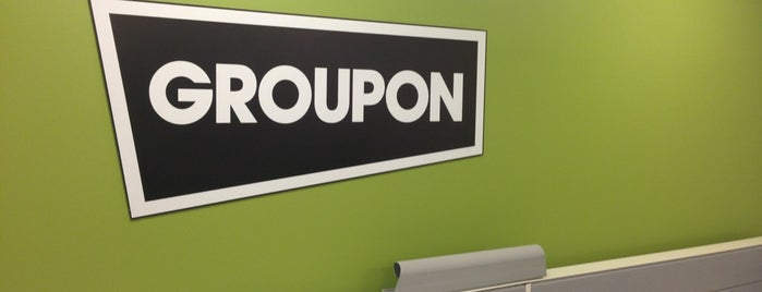 Groupon is one of Startups & Spaces NYC + CA.