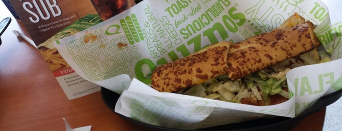 Quiznos is one of Get Yo-self a Sandvich in Ames.
