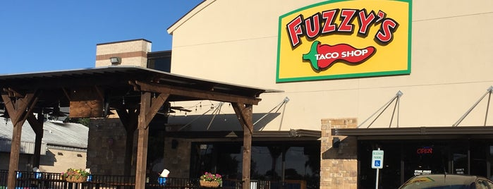 Fuzzy's Taco Shop is one of TX eats.