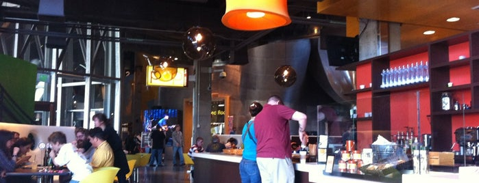 Pop Kitchen + Bar is one of Where to eat near the Seattle Monorail platforms!.