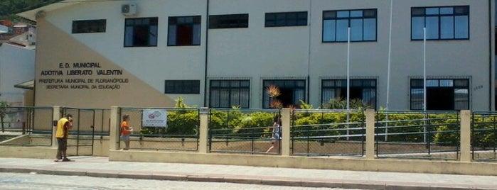 Escola Adotiva Liberato Valentim is one of Lugares que já dei checkin.
