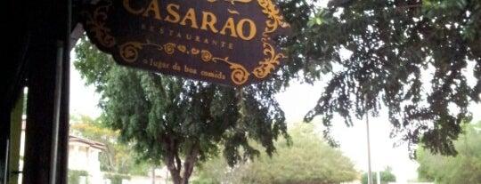Casarão is one of Restaurantes.