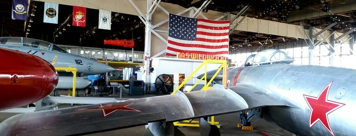 NAS Wildwood Aviation Museum is one of Wishlist.