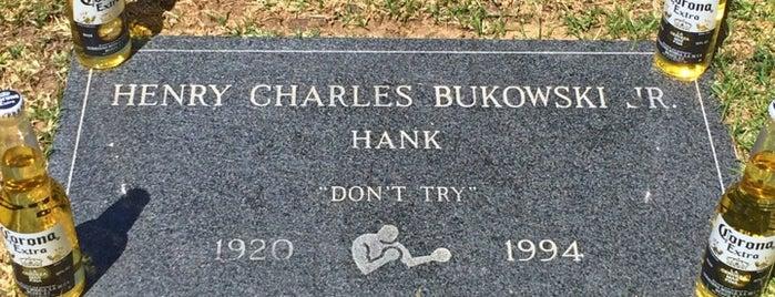 H. Charles Bukowski's Grave is one of Nikki Kreuzer's Offbeat L.A..