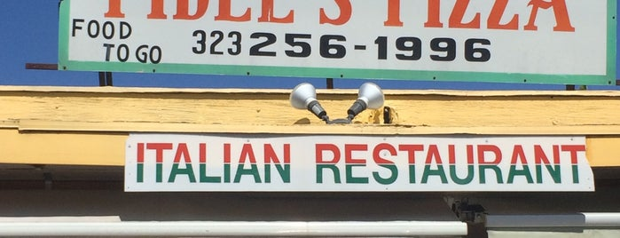 Fidel's Pizza is one of Oldest Los Angeles Restaurants Part 1.