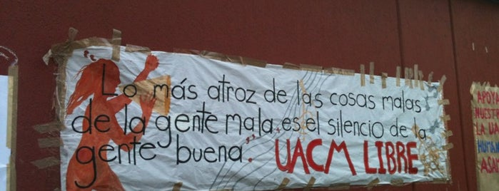 UACM Rectoria is one of HER.