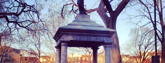 Tompkins Square Park is one of New York City.