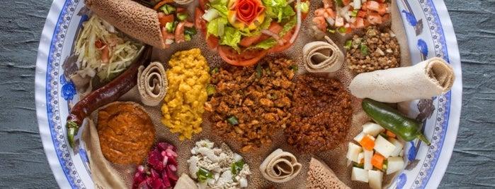 Meaza Restaurant & Market is one of 50 Best Restaurants 2012.