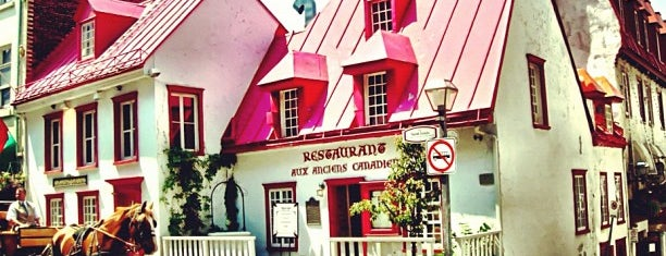 Aux Anciens Canadiens is one of T's Foodie Lists: Quebec City.