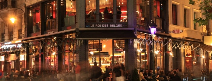 Le Roi des Belges is one of Br(ik Caféplan - part 1.