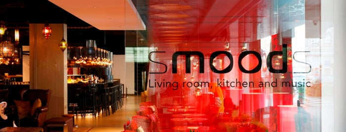 SmoodS Living Room, Kitchen and Music [Hotel BLOOM!] is one of Les restos de Steph G..