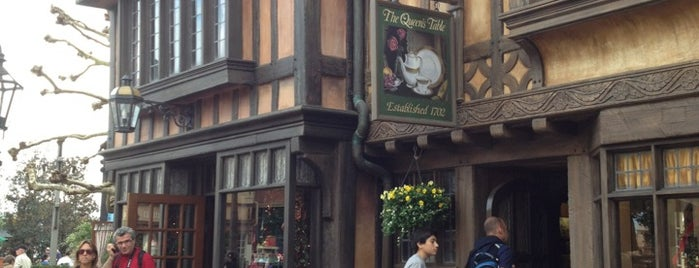 The Queen's Table is one of Walt Disney World - Epcot.