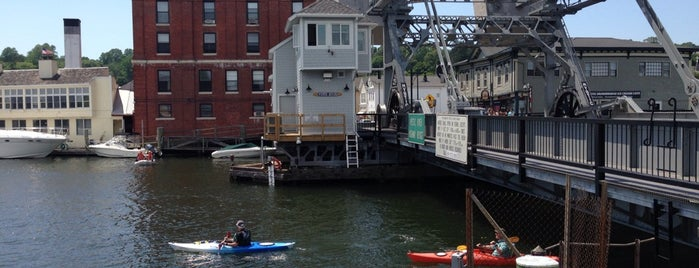 Mystic Bascule Bridge is one of Take a Trip to Mystic, CT..