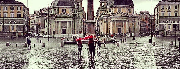 Piazza del Popolo is one of Rome 9 Jan - 12 Jan.