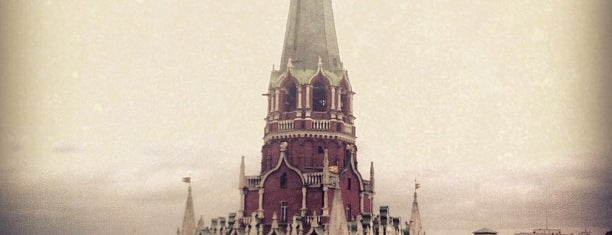 The Kremlin is one of Москва.