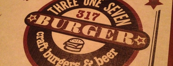 317 Burger is one of The 15 Best Places for Burgers in Indianapolis.