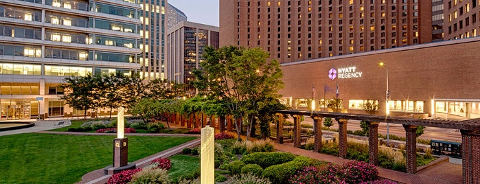 Hyatt Regency Indianapolis is one of Locations Discovered.