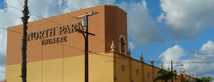 The North Park Theatre is one of Bikabout San Diego.