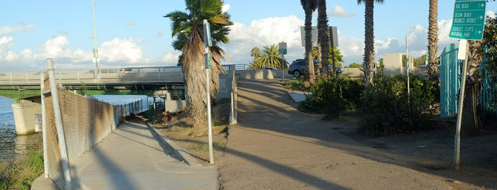 San Diego River Trail at Mission Center Rd is one of Bikabout San Diego.