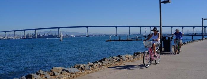 Bayshore Bikeway is one of Bikabout San Diego.