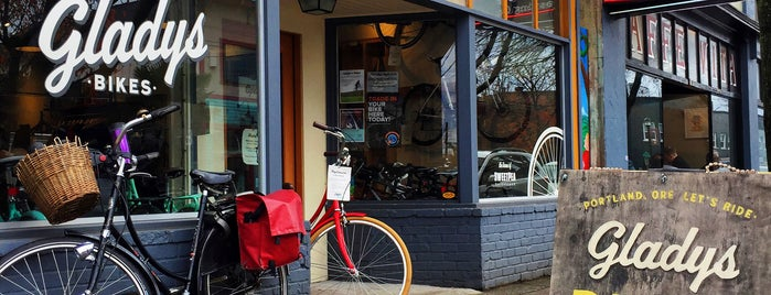 Gladys Bikes is one of Portland by Bike.