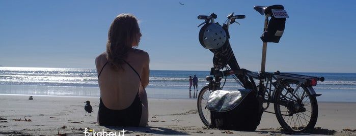 Silver Strand State Beach is one of Bikabout San Diego.