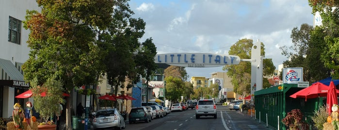 Little Italy is one of Bikabout San Diego.