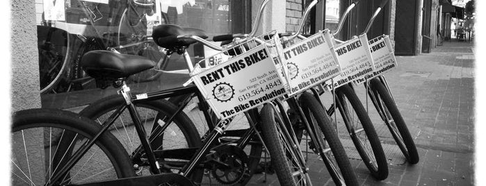 The Bike Revolution is one of Bikabout San Diego.