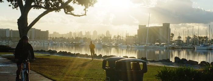 Harbor Bike Path is one of Bikabout San Diego.