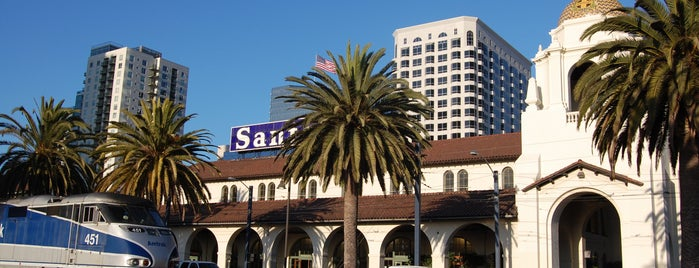 Santa Fe Depot is one of Bikabout San Diego.