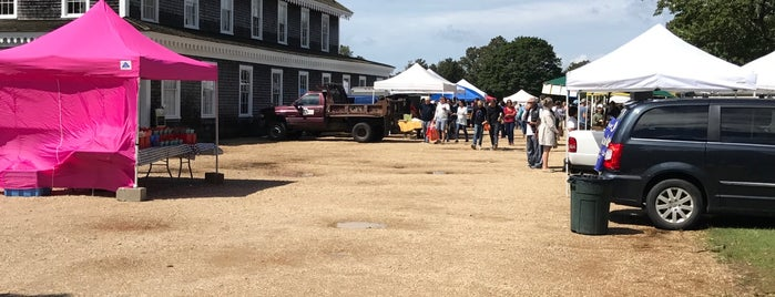 West Tisbury Farmers Market is one of Martha's Vineyard.
