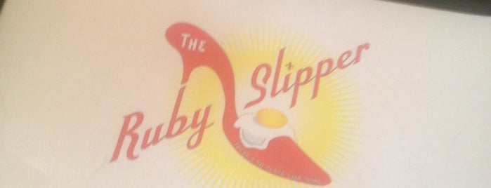 The Ruby Slipper is one of Places I've ate at.