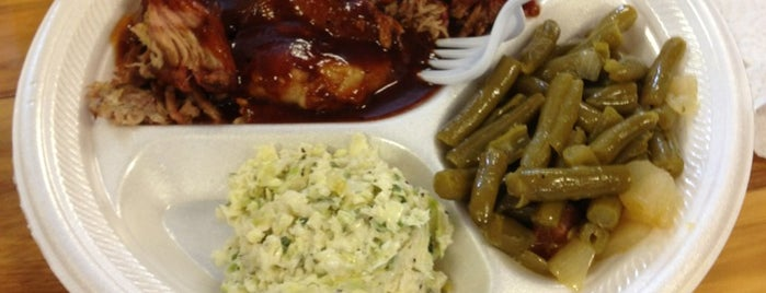 Cooks Bar-B-Q is one of Places I've ate at.