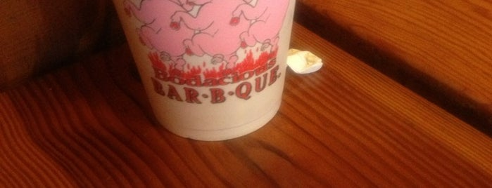 Bubbalou's Bodacious Bar-B-Que is one of Places I've ate at.