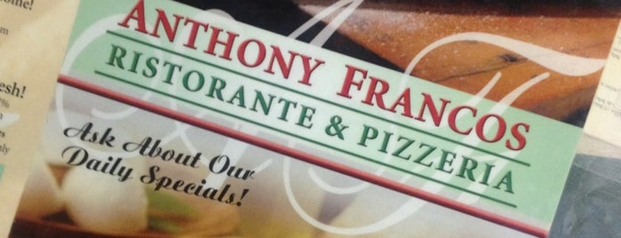 Anthony Franco's Pizza is one of Places I've ate at.