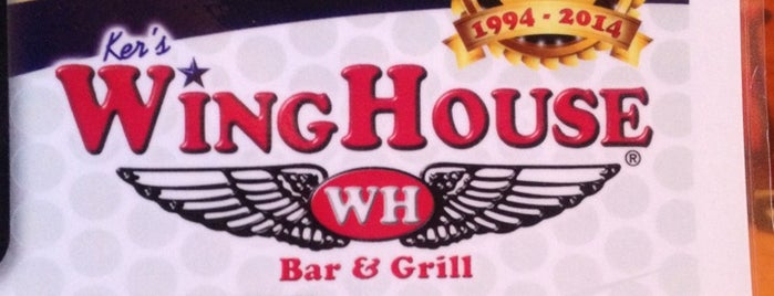 Ker's WingHouse is one of Places I've ate at.
