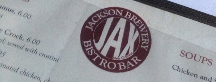 Jackson Brewery Bistro Bar is one of Places I've ate at.