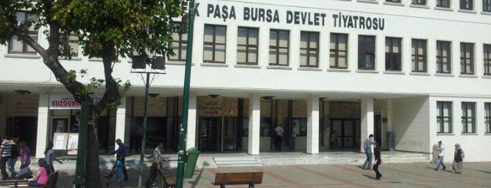 Ahmet Vefik Paşa Bursa Devlet Tiyatrosu is one of Mutlaka gidilmeli!.