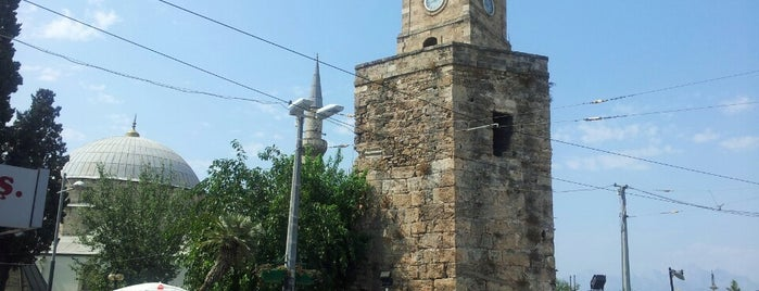 Saat Kulesi is one of Historical Places in Antalya - Ören Yerleri.